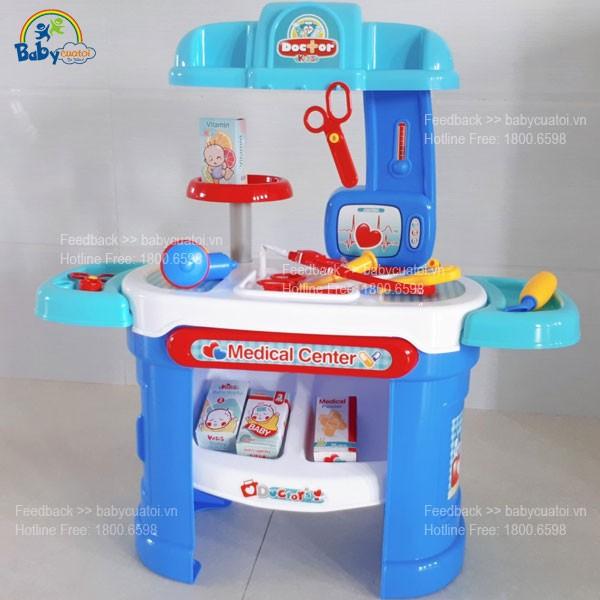 Bộ đồ chơi bác sỹ cao cấp cho bé 008-913