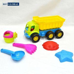 Bộ đồ chơi xúc cát ô tô và dụng cụ 366
