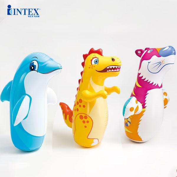 Lật đật bơm hơi đáy rỗng INTEX 44669