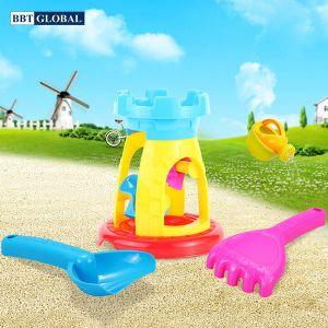 Bộ đồ chơi xúc cát guồng quay và dụng cụ 602