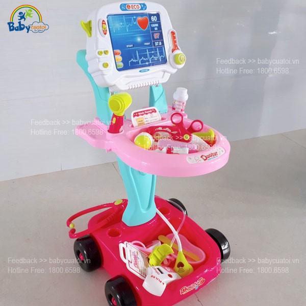 đồ chơi bác sỹ xe đẩy cho bé 660-45