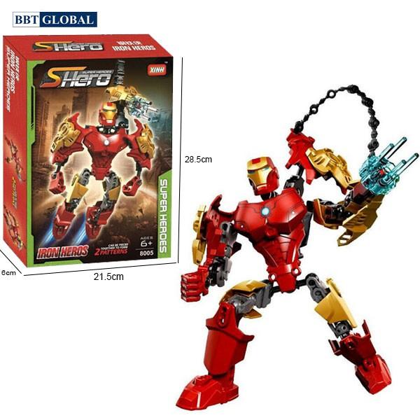 Xếp hình người sắt Iron Man 8005