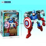 Xếp hình đội trưởng Mỹ bản lĩnh Captain America 8006