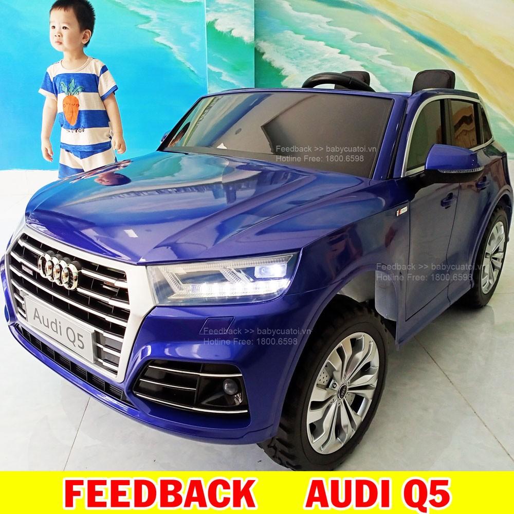 Xe Ô tô điện trẻ em Bản quyền Cao cấp Audi Q5