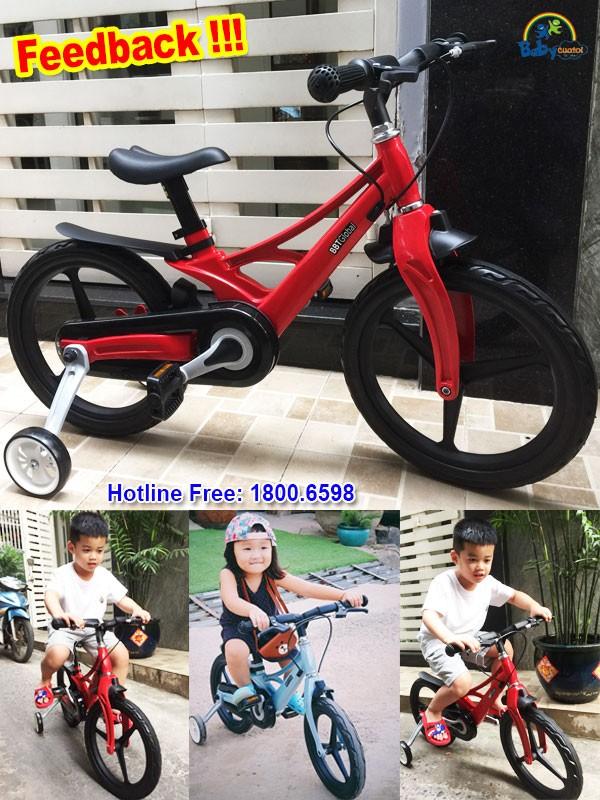 Xe đạp trẻ em siêu nhẹ size 16 inch BB66-16