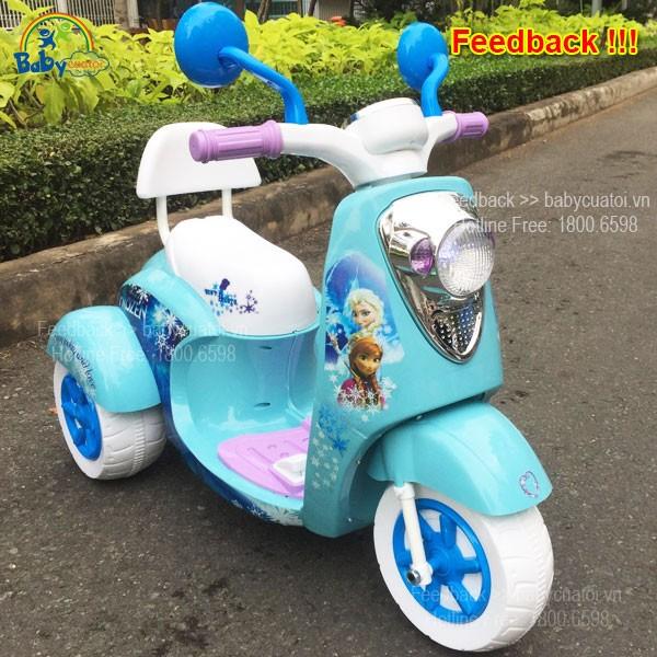 Xe máy điện trẻ em dáng vespa BBT-600