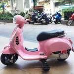 Xe máy điện cho bé gái Vespa BBT-6116