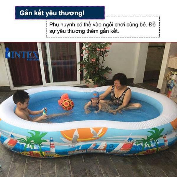 bể bơi cho bé INTEX 56490