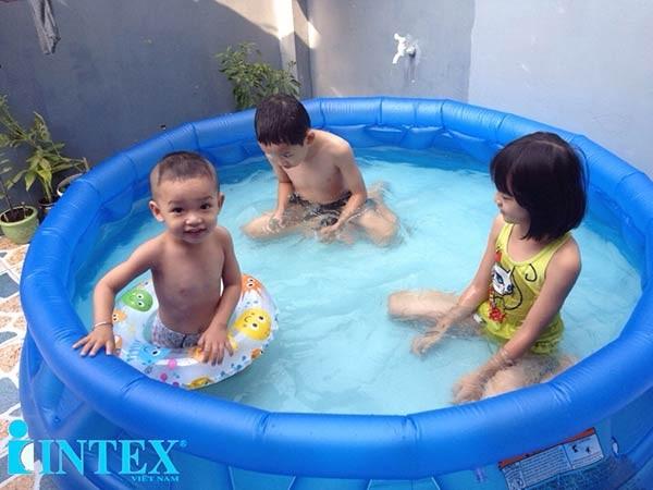 bể bơi phao tròn intex 58431