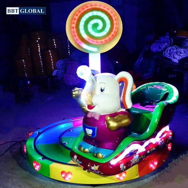 Tàu hỏa điện chú voi ngộ nghĩnh DQ-5013