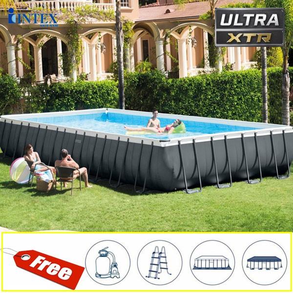 Bể bơi lắp ghép gia đình chịu lực cao cấp INTEX 26374