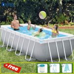 Bể bơi gia đình khung kim loại 4m INTEX 26788
