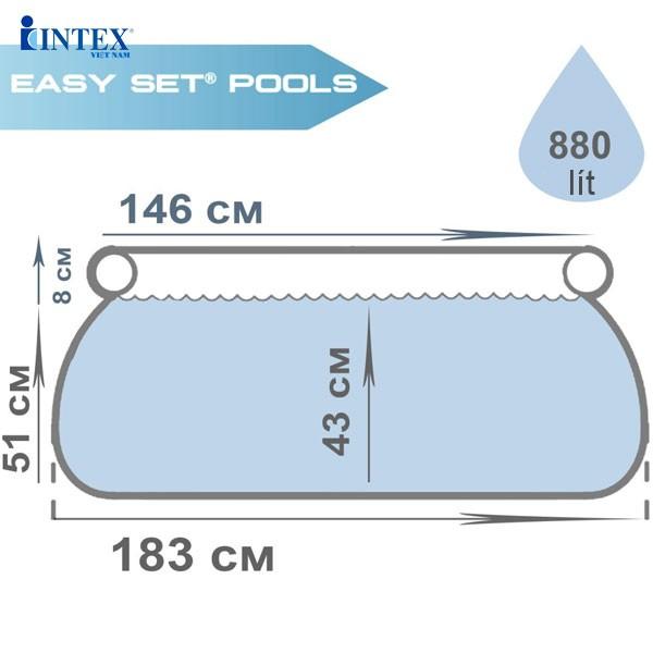 Hồ phao bơi cho bé bản quyền INTEX  28103