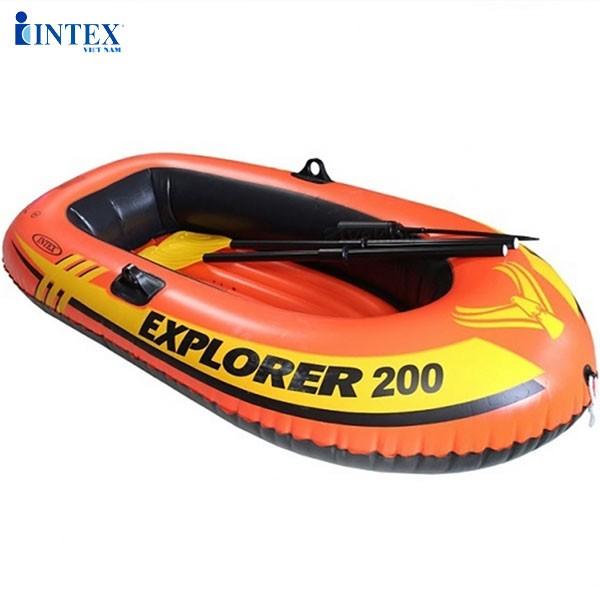 Bộ thuyền bơm hơi trẻ em EXPLORER 200 INTEX 58331