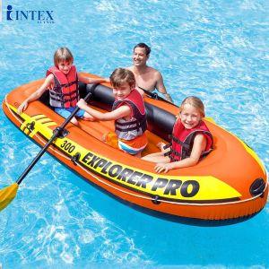 Bộ thuyền bơm hơi trẻ em EXPLORER 300 INTEX 58332