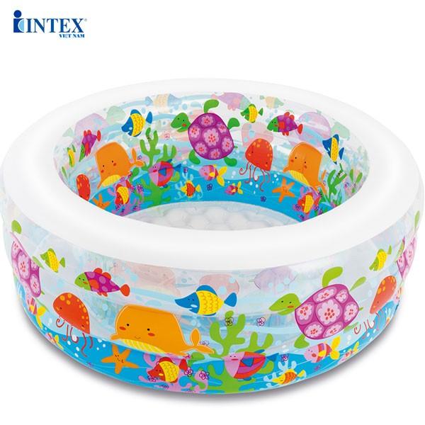 Bể bơi phao cho bé hình tròn 1m52 INTEX 58480