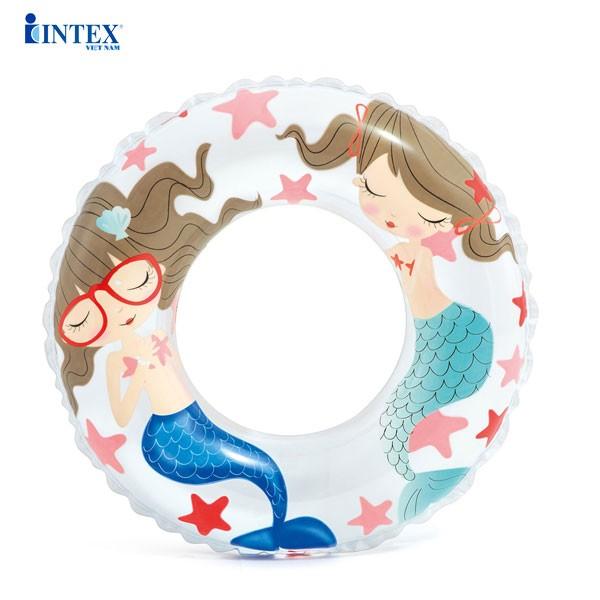Phao bơi tròn cho bé 61cm INTEX 59242