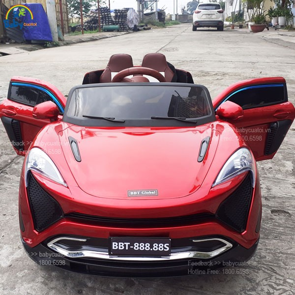 Xe Ô tô điện trẻ em McLaren dáng thể thao BBT-888.88