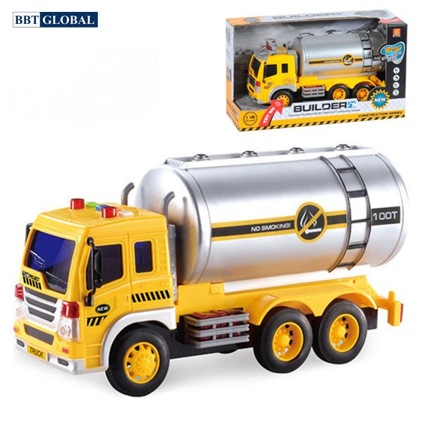 Mô hình đồ chơi xe công trường cỡ lớn có đèn và nhạc WY300S