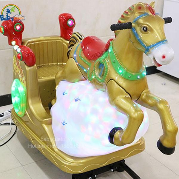 Nhún điện nhập khẩu ngựa thần NDNK-1010