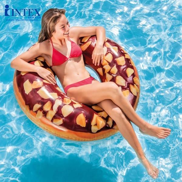 phao bơi banh donut