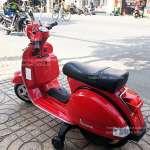 Xe máy điện cho bé gái Bản quyền Vespa PX150