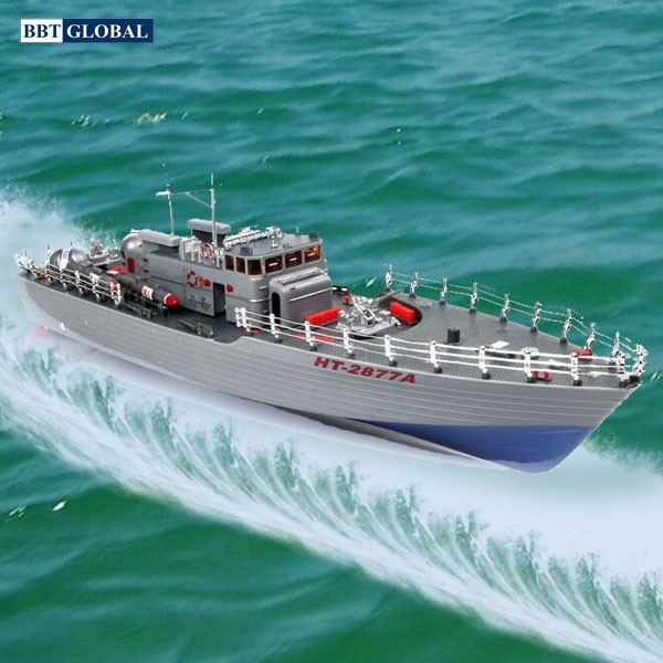 Tàu chiến điều khiển từ xa 50cm 2877A
