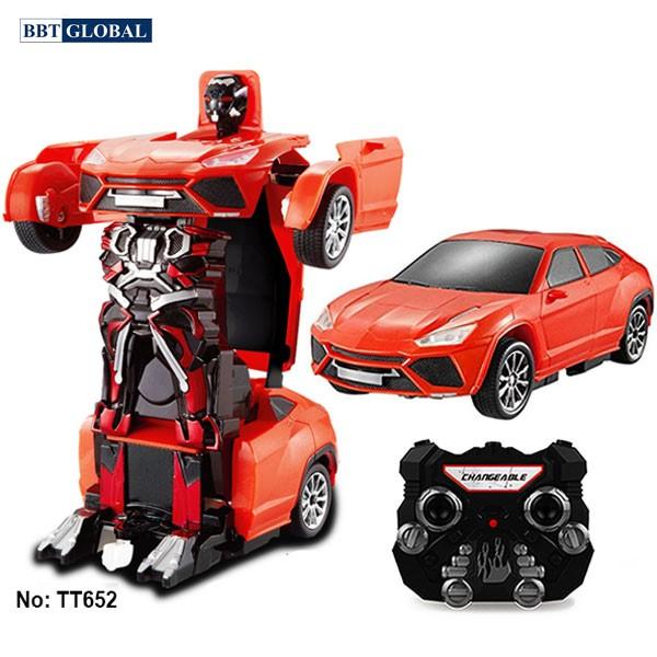 Đồ chơi rô bốt biến hình Transformer điều khiển TT652A