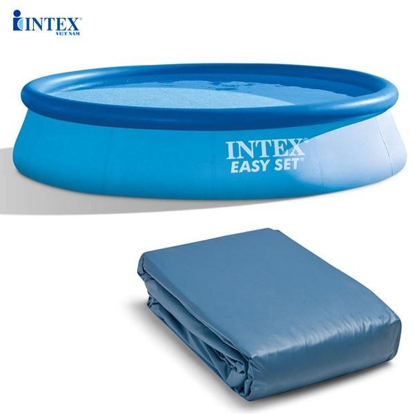 Vỏ bể tròn cổ bơm hơi 366*76cm (dành cho bể 28130,28132) mã INTEX 10200
