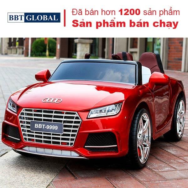 Ô tô điện cho bé Phun sơn dáng Audi TTS BBT-9999