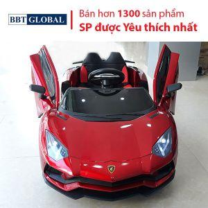 Xe Ô tô điện trẻ em Lamborghini Aventador BBT-6868