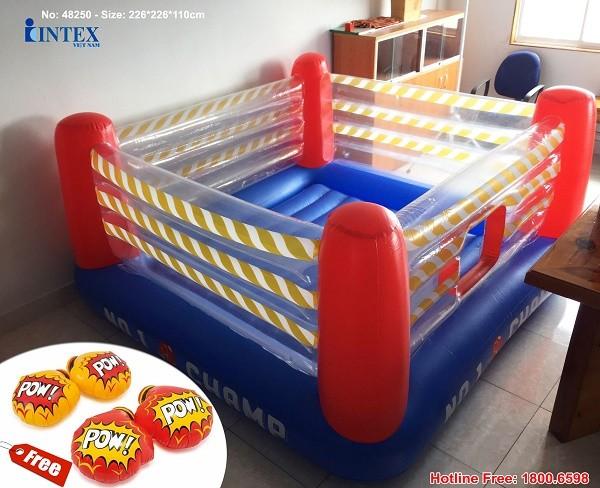 nhà banh nhún cho bé INTEX 48250
