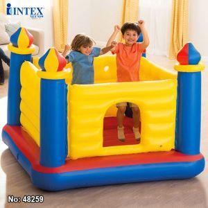 Nhà hơi, nhà banh nhún lâu đài INTEX 48259