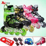 Giày trượt patin Cougar 4 bánh phát sáng MZS835LQS