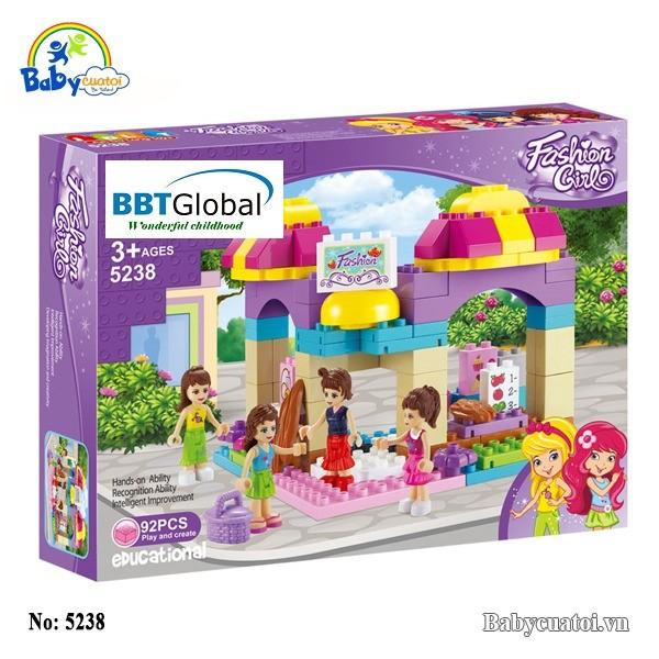 Đồ chơi xếp hình lego cho bé gái