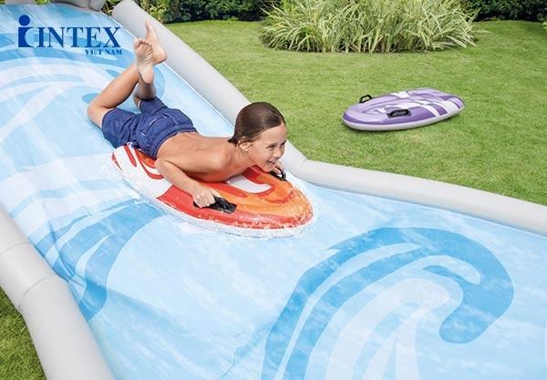 Đường trượt nước cho bé tại nhà INTEX 57159