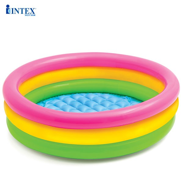 Bể bơi mini INTEX cầu vồng 86cm - 58924