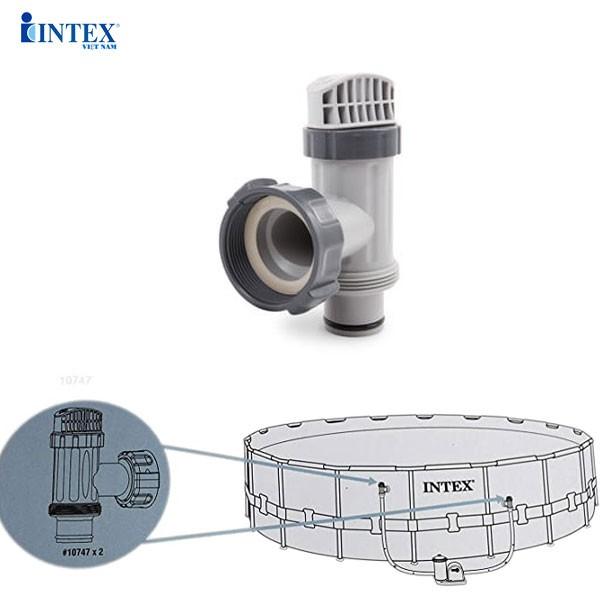 Van pít tông nối máy lọc và bể bơi INTEX 10747