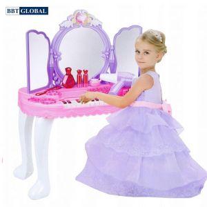 Đồ chơi bàn trang điểm cho bé kèm đàn organ BBT Global YL80015A