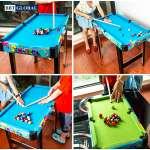 Đồ chơi bàn bi a cho bé bằng gỗ BBT Global ZC2037+1