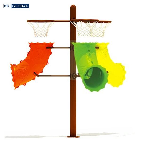 Thiết bị thể dục ngoài trời cột ném bóng rổ BBT Global 14074-6