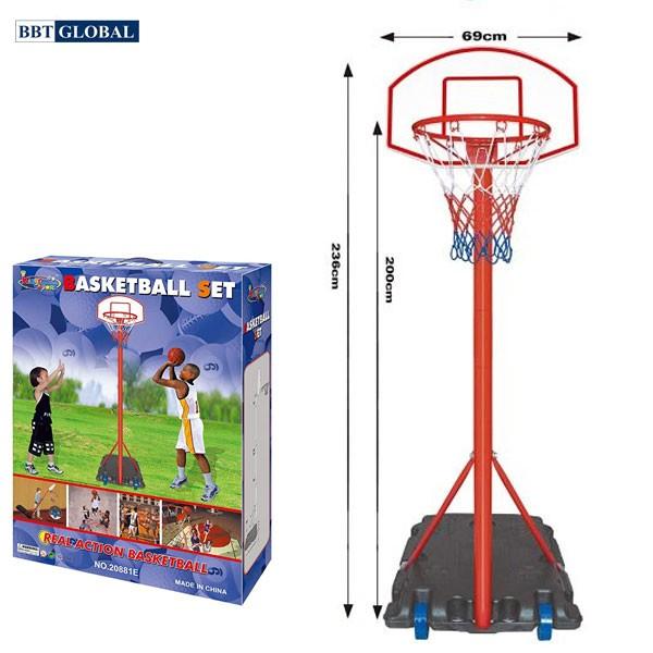Cọc gôn ném bóng rổ di động 20881E