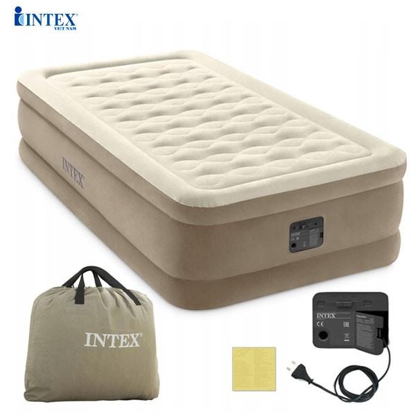 Giường hơi đơn tự phồng 99cm công nghệ mới INTEX 64426