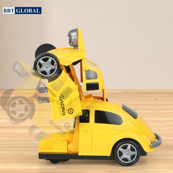 Đồ chơi rô bốt biến hình thành xe đua BBT Global 66105