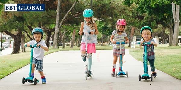 Hướng dẫn cách sử dụng xe trượt scooter