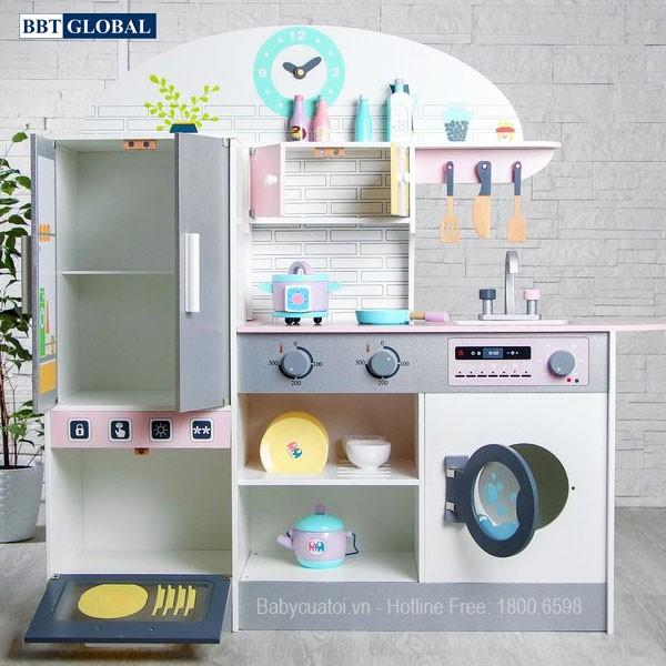 Bộ đồ chơi nhà bếp bằng gỗ cao cấp MSN19033