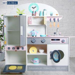 Bộ đồ chơi nấu ăn gỗ BBT Global cao cấp MSN19033