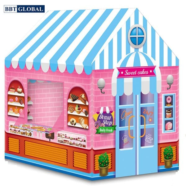 Nhà bóng tiệm bánh ngọt cho bé