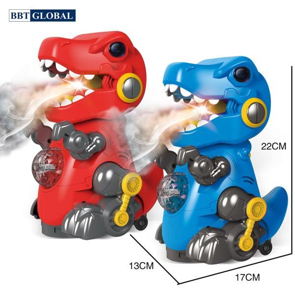 Đồ chơi khủng long phun khói có đèn và nhạc RJ22904