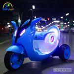 Xe máy điện trẻ em cao cấp xanh dương BBT-808XD